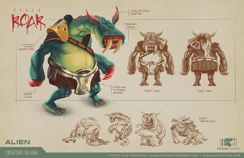 alien creature design vancouver animation school alumni network