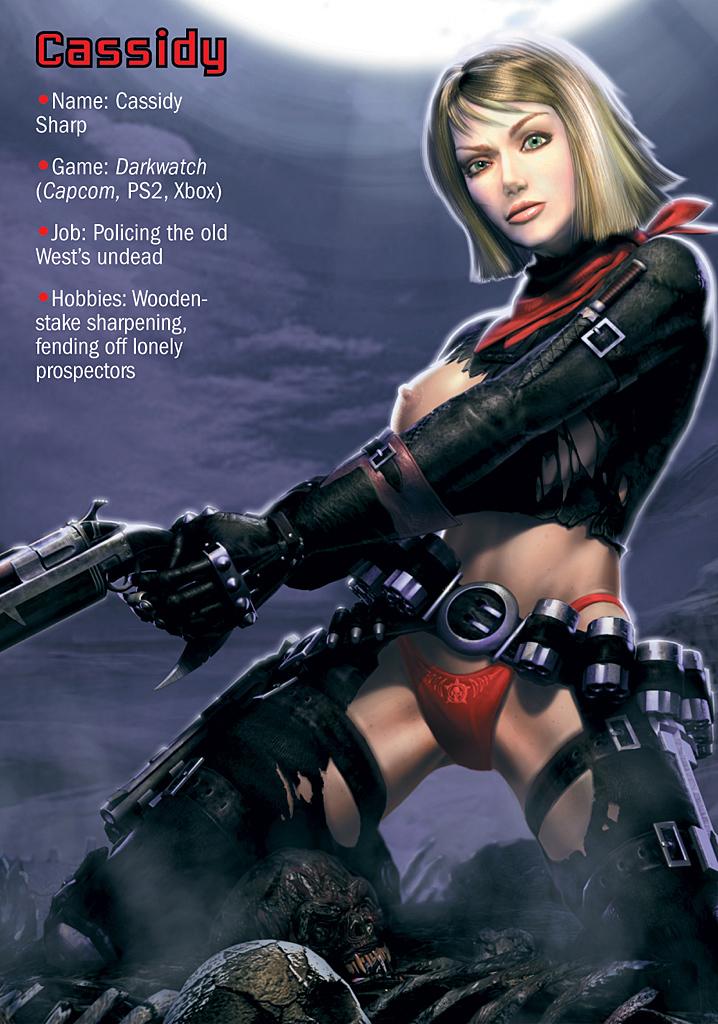 эротические фото девушек из видеоигр