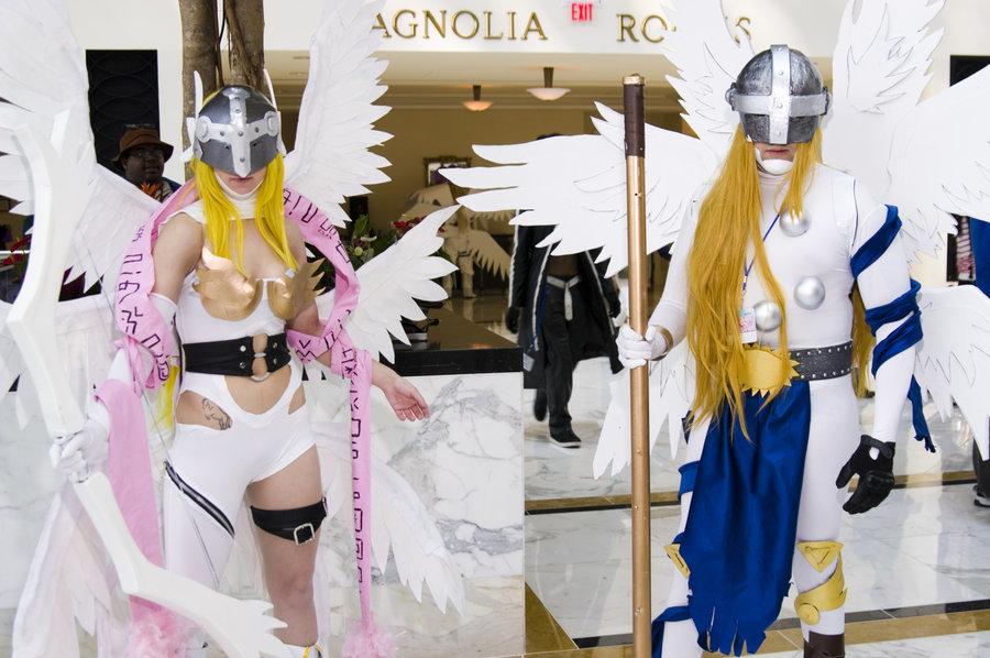 Angewomon cosplay