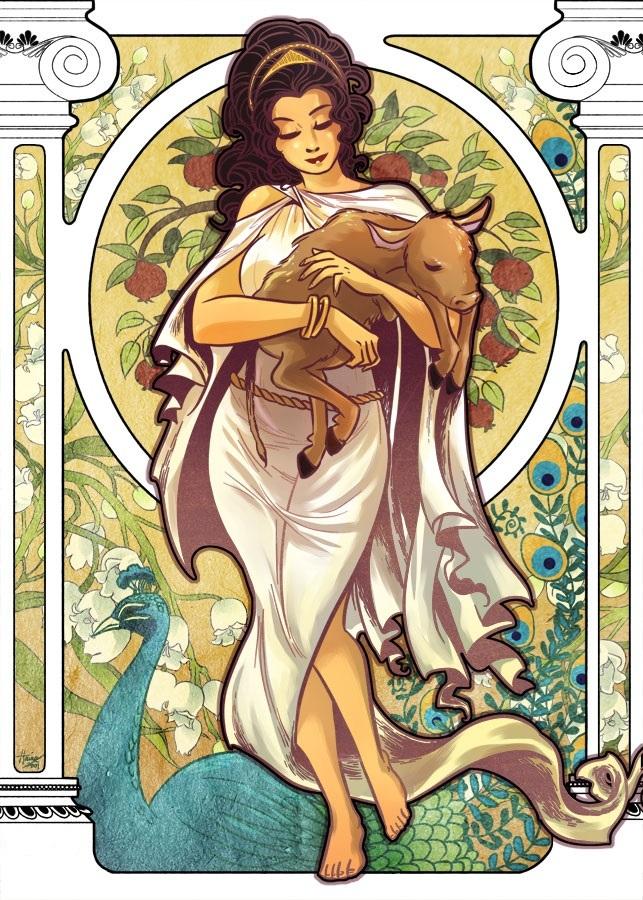 Greek Goddesses Hera Symbols 8616062 Ilug Calfo