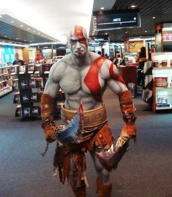 Kratos god of war costume