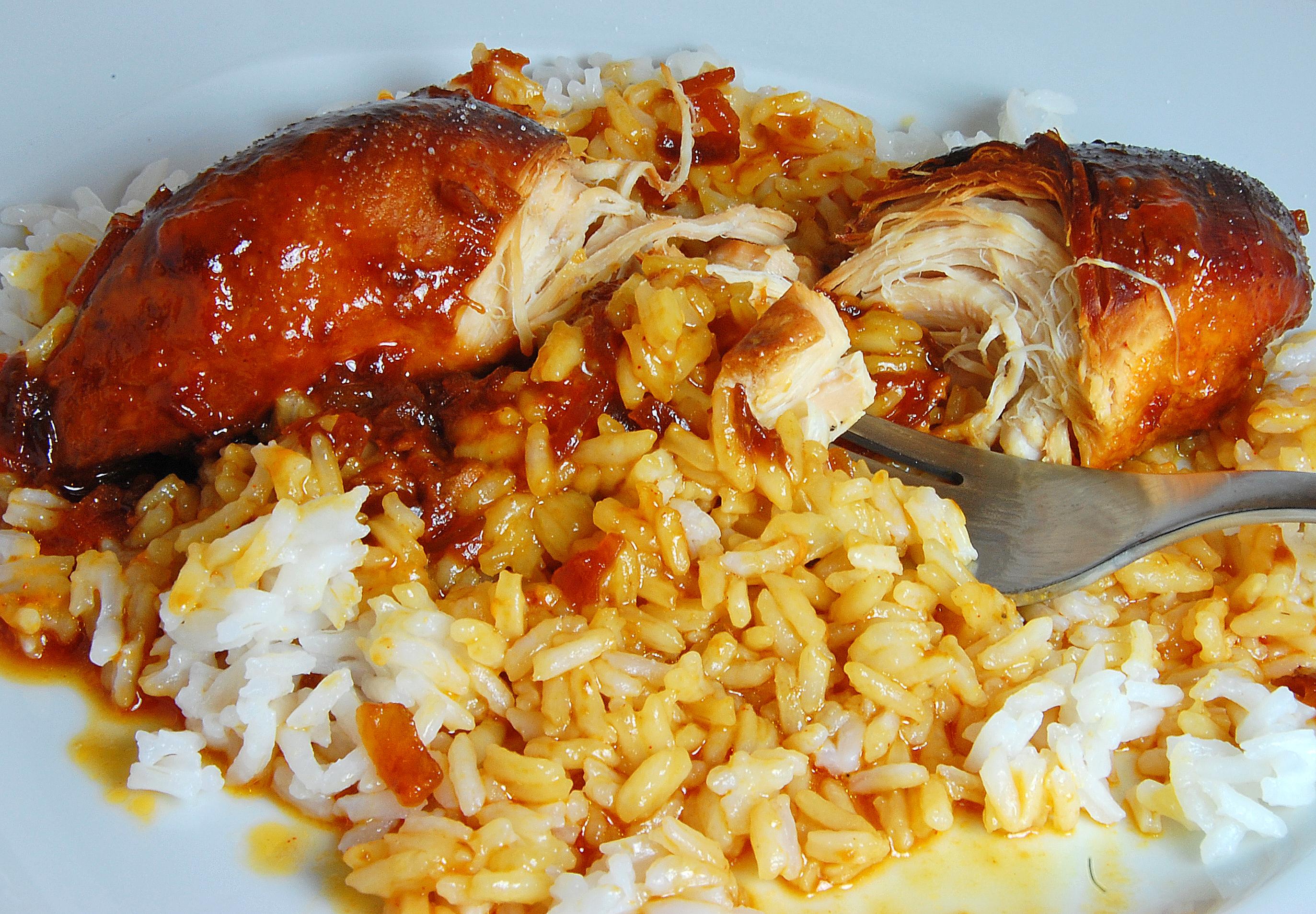 Рецепт французской кухни и курицей