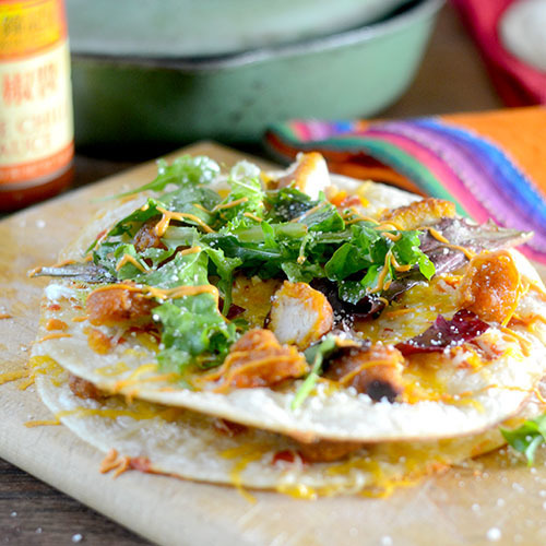 Sweet Chili Chicken Quesadillas - Feed Your Soul Too (feedyoursoul2 ...