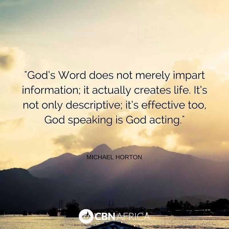 How is God speaking to you today?