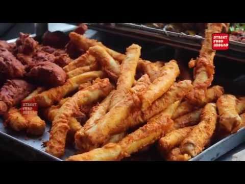 Arabian Chicken Spring Roll Amazing Cooking Skill Street Food