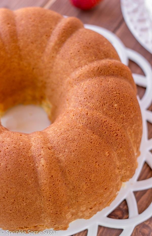 Vanilla Butter Pound Cake